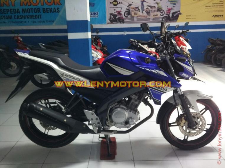 Motor Gede Bekas Yamaha Vixion Ks Moto Gp 2014 Warna Biru Harga Termurah Di Kediri
